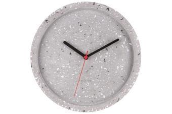 Karlsson Wall Clock Tom Terrazzo – Grey