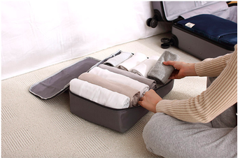 Pack-in-Style Luggage Organiser Packing Cube [Colour: Grey]