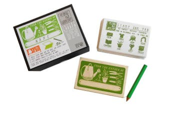 Yellow Owl Workshop Custom Stamp Activity Kit - Garden