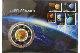 2015 Our Solar System Medallion Cover PNC