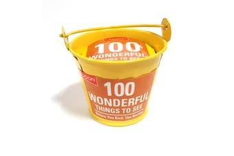 Lagoon Tabletop 100 Things Bucket Lists [Wonderful Things to See]