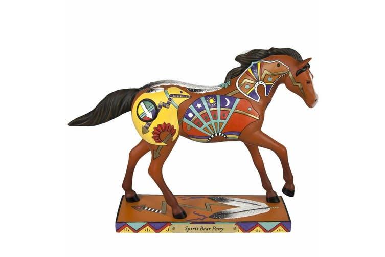 Trail of Painted Ponies Spirit Bear Pony Figurine