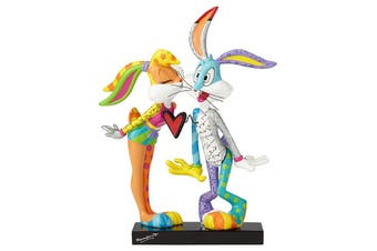 Looney Tunes By Britto - Lola Bunny & Bugs Bunny Kissing Figurine