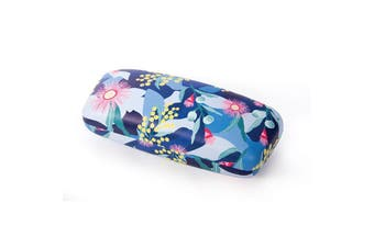 IS Gift Australian Botanical Collection Glasses Case [Colour: Blue]