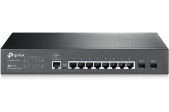 TP-Link 8-Port Gigabit L2 Lite Managed Switch with 2 SFP slots T2500G-10TS(TL-SG3210)