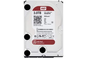 """WD Red NAS Series 3.5"""" SATA HDD 3TB - WD30EFRX"""