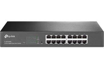 TP-Link 16 Port Gigabit Easy Smart Switch (TL-SG1016DE)