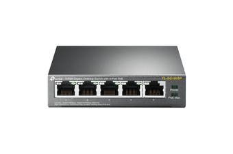 TP-Link TL-SG1005P 5-Port Gigabit Desktop Switch With 4-Port PoE (TL-SG1005P)