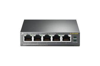 TP-Link 5-Port 10/100Mbps Desktop Switch with 4-Port PoE (TL-SF1005P)