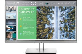 "HP E243 23.8"" FHD IPS LED Monitor - 16:9 VGA/DP/HDMI Tilt"