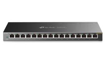 TP-Link TL-SG116E 16-Port Gigabit Unmanaged Pro Switch (TL-SG116E)