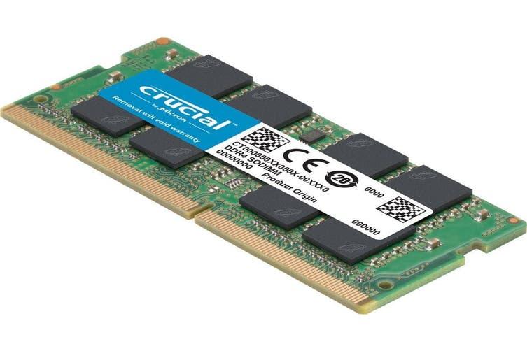 Crucial 16GB (1x16GB) DDR4 2400MHz SODIMM CL17 (CT16G4SFD824A) HT