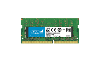 Crucial 4GB DDR4 (SODIMM) Notebook Memory, PC4-19200, 2400MH (CT4G4SFS824A)