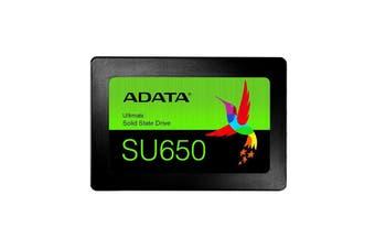 """ADATA Ultimate SU650 Solid State Drive - 480GB 2.5"""" SATA SSD"""