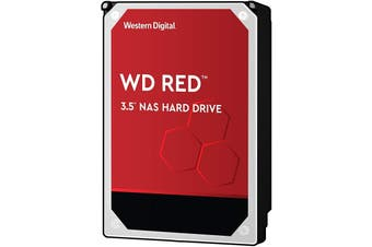 "Western Digital Red NAS Series 3.5"" SATA HDD 6TB"