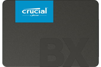 """Crucial BX500 Solid State Drive - 240GB 2.5"""" SATA SSD HT"""