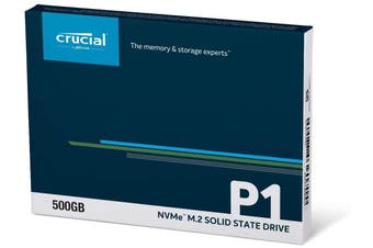 Crucial P1 Solid State Drive - 500GB M.2 (2280) NVMe PCIe HT