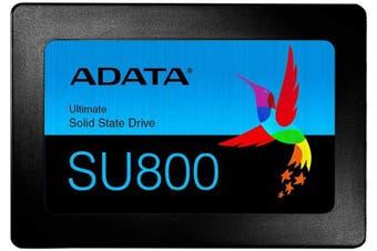 """ADATA Ultimate SU800 Solid State Drive - 256GB 2.5"""" SATA SSD"""