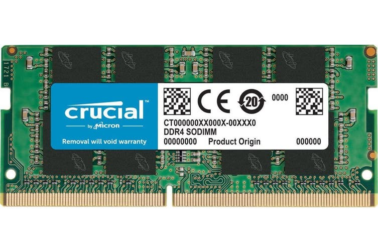 Crucial 16GB Single DDR4 SODIMM 2666MHz 260-Pin Memory (CT16G4SFD8266) HT