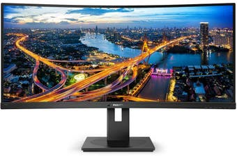 "Philips 34"" 4K 100Hz QHD Curved LED Monitor (346B1C)"