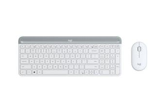 Logitech MK470(White) Slim Wireless Keyboard and Mouse Combo