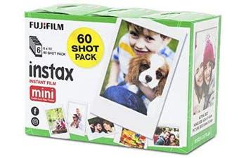 Fujifilm Instax Mini Instant Film Sheets 60 Pack HT