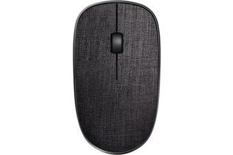 Rapoo 2.4G Wireless Fabric Optical Mouse - Black HT