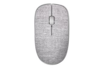 Rapoo 2.4G Wireless Fabric Optical Mouse - Grey HT
