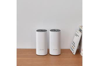TP-Link Deco E4 (2-pack) AC1200 Whole Home Mesh Wi-Fi System