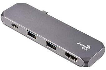 AeroCool Type-C Mulitfunction Hub with 2X USB3.0,HDMI,Type-C