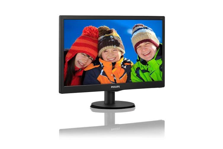 "Philips 18.5"" HD HDMI/VGA LCD Monitor (193V5LHSB2) HT"