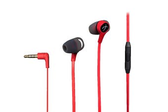 HyperX Cloud Earbuds (HX-HSCEB-RD) - Red