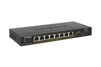 Netgear S350 Series 8-port Gigabit PoE+ Smart Managed Pro Switch with 2 x SFP Ports (GS310TP-100AJS)