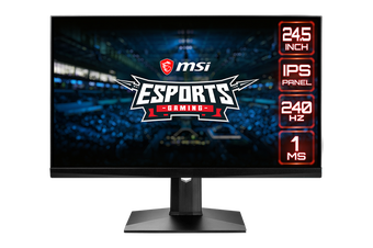 MSI Optix MAG251RX 24.5inch 240Hz G-SYNC IPS Gaming Monitor