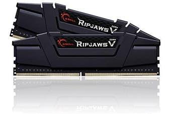 G.SKILL 16GB (2 x 8GB) Ripjaws V Series DDR4 3200MHz Desktop Memory Model (F4-3200C16D-16GVKB) HT