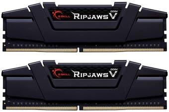 G.SKILL 32GB (2 x 16GB) Ripjaws V Series DDR4 3200MHz Desktop Memory Model (F4-3200C16D-32GVK) HT