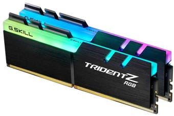 G.SKILL Trident Z RGB 16GB (2x 8GB) DDR4 3200Mhz Memory (F4-3200C16D-16GTZR) HT