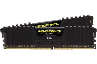 Corsair Vengeance LPX 16GB (2x8GB) DDR4 2400MHz - Black HT