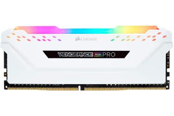 Corsair Vengeance RGB PRO 16GB(2x 8GB) DDR4 3200MHz - White HT