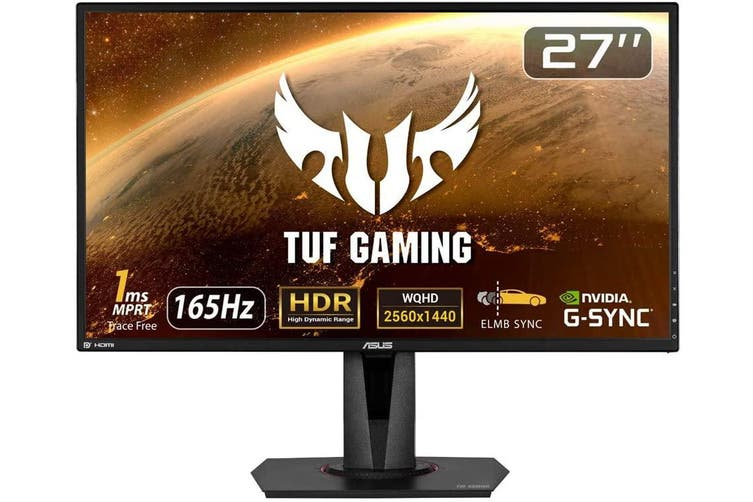 "Asus TUF VG27AQ 27"" WQHD G-Sync Compatible 165Hz 1ms IPS LED Gaming Monitor"