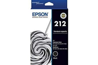 Epson 212 Std Capacity Black Ink Cartridge
