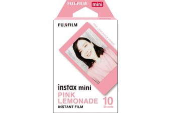 Fujifilm Instax Mini Pink Lemonade Film - 10 Exposures HT