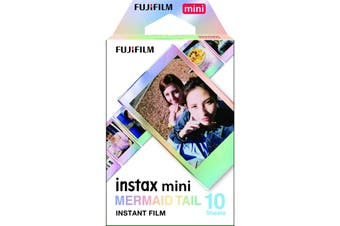 Fujifilm Instax Mini Mermaid Tail Film - 10 Exposures HT