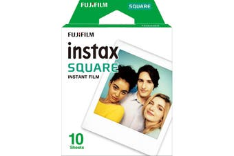 Fujifilm Instax Square Instant Film Sheets 10 Pack