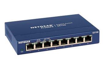 Netgear GS108 ProSafe? 8-Port Gigabit Ethernet Switch