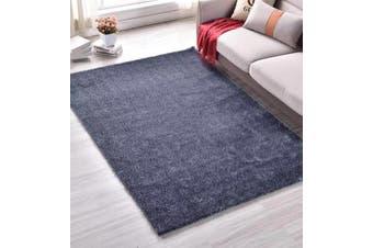 New Modern Designer Anti-slip Shaggy Shag Floor Rug Carpet Grey 200x140cm
