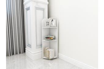 3-Tier Corner Storage Display Shelf For Living Room Bathroom Toilet Shower Waterproof Meterial