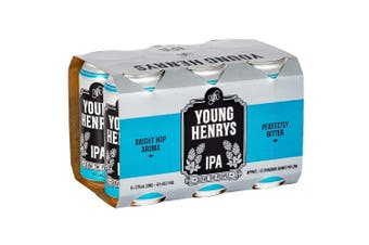 Young Henrys Summer Hop Ale IPA Cans 375ml - 6 Pack
