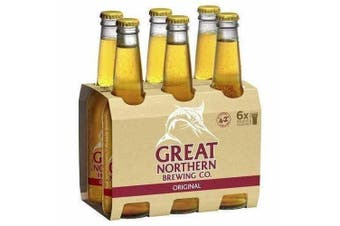 Great Northern Brewing Original Lager Beer 330ml - 6 Pack