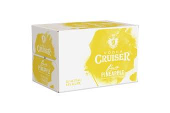 Vodka Cruiser Pure Pineapple 275ml - 24 Bottles